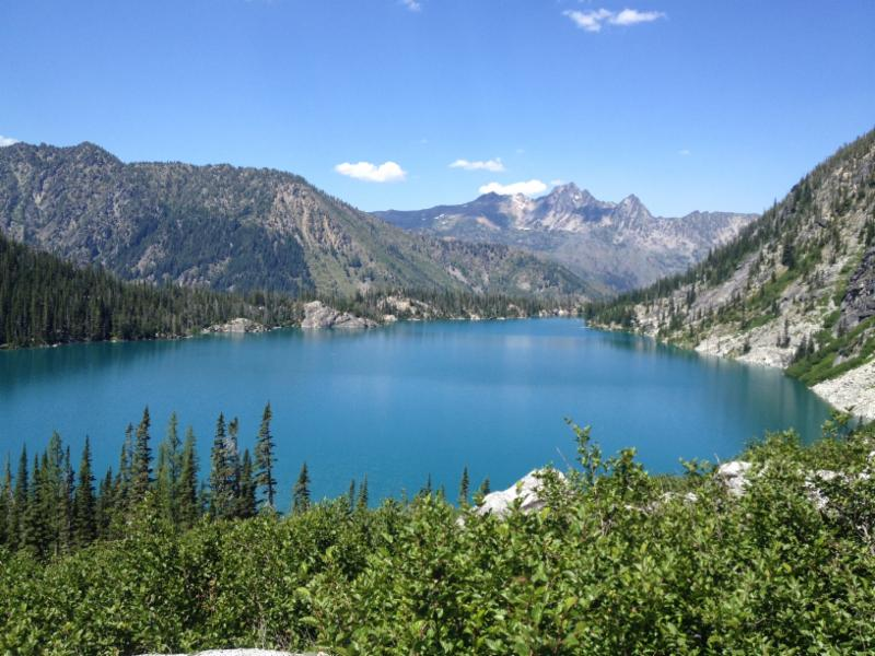 Is draining the Alpine Lakes the only way to provide water for the City of Leavenworth?