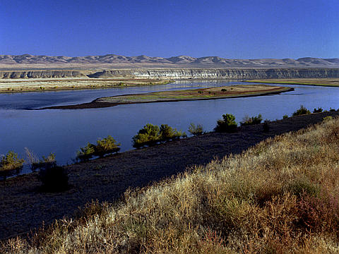 Hanford Reach on the Columbia river