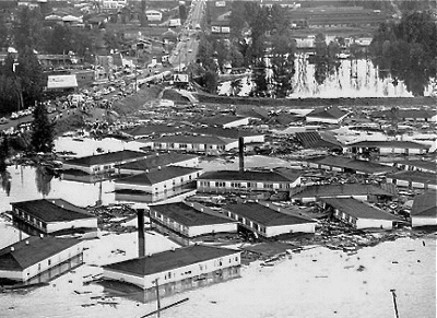 Vanport, Oregon - Photo from Blackpast.org